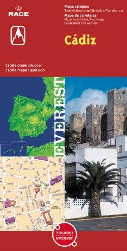 Cádiz. Plano callejero y mapa de carreteras (Planos callejeros / serie roja)