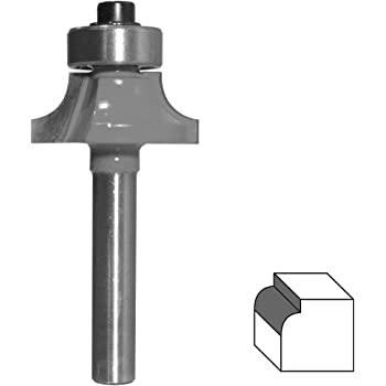 Extra lange bündige Trimmfräser 8 mm Schaft 1//2 Zoll Schnittdurchmesser 2 Zoll