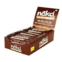 Nakd Cocoa Delight Gluten Free Bar 35 g (Pack of 18) Nakd Cocoa Delight Gluten Free Bar 35 g (Pack of 18) Nakd Cocoa Delight Gluten Free Bar 35 g (Pack of 18)