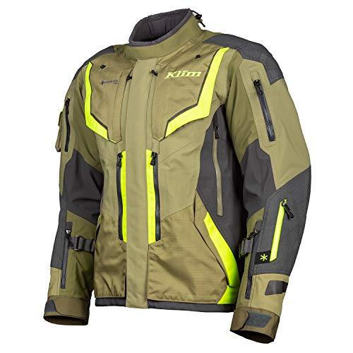 KLIM Motorradjacke Badlands Pro Jacket sage hi vis, XL