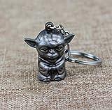 VAWAA Star Wars Schlüsselanhänger 3D Master Figur Yoda Anhänger Schlüsselanhänger Männer...