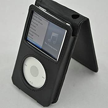 WILLOWLUCKY Leather Flip Case Cover for iPod Classic 80G/120G & 3 Generation 160G