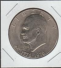 1976 D Eisenhower (1971-1978) $1 Choice About Uncirculated Details