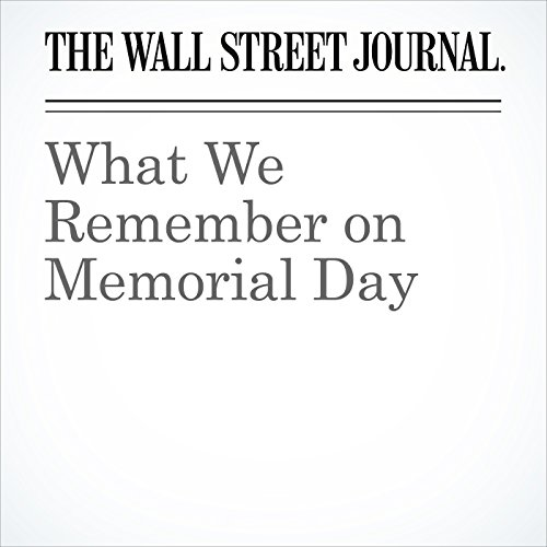 What We Remember on Memorial Day audiobook cover art