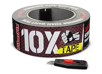 FiberFix 10X Tape - Repair Tape 100x Stronger than Duct Tape - 2   1 Roll