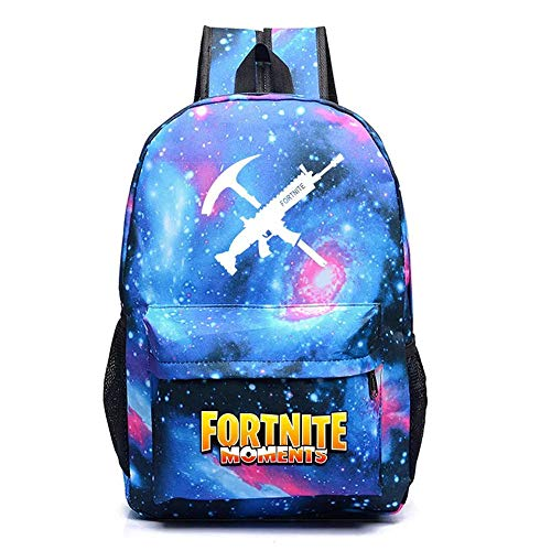 School Bag Teenager Casual Sports Backpack Men's And Women's Student Backpack For Fortress Night Game Related (cxk-2)