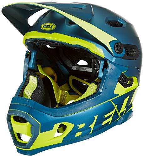 BELL Super DH MIPS Casco para Bicicleta de montaña, Unisex Adulto, Azul...