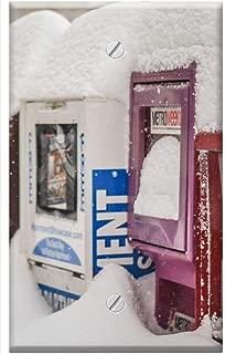 Single-Gang Blank Wall Plate Cover - Snowzilla January 2016 Snow Storm Distributors