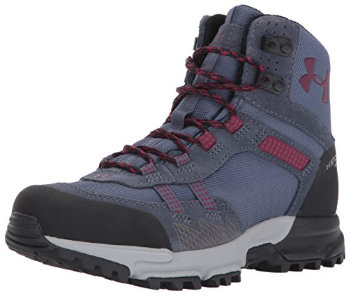 Under Armour Women's Post Canyon Mid Waterproof Hiking Boot, Apollo Gray (962)/Overcast Gray, 6.5