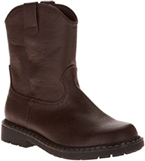 Faded Glory Childs Boys Brown Pull On Boots