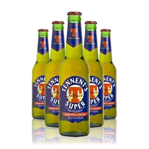 Birra Tennent's Super Cassa da 24 bottiglie x 0,33 lt.