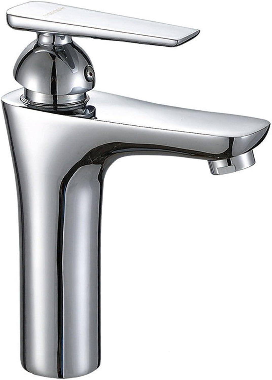 ETERNAL QUALITY Badezimmer Waschbecken Wasserhahn Messing Hahn Waschraum Mischer Mischbatterie Keramik Ventileinsatz kaltes Wasser Hahn Hotel waschtischmischer Hinzufügen