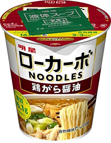 明星食品『ローカーボNOODLES 鶏がら醤油』
