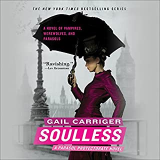 Soulless                   Written by:                                                                                                                                 Gail Carriger                               Narrated by:                                                                                                                                 Emily Gray                      Length: 10 hrs and 48 mins     12 ratings     Overall 4.6