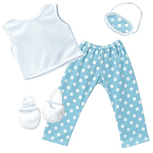 "Adora Amazing Girls Slumber Party Pajama Outfit for 18"" Doll (Amazon Exclusive)"