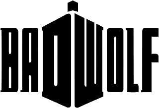 Bargain Max Decals - Badwolf DW Whovian Tardis Logo Sticker Decal Notebook Car Laptop 8