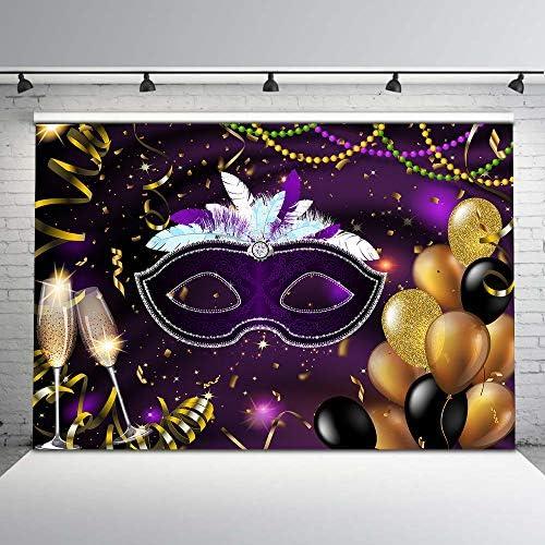 Masquerade photo backdrop