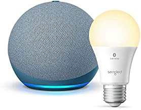 All-new Echo Dot (4th Gen) - Twilight Blue - bundle with Sengled Bluetooth bulb