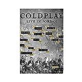 Musikdokumentarisches Coldplay Alltag – Live in Jordan