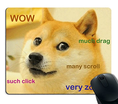 Funny Doge Mousepad
