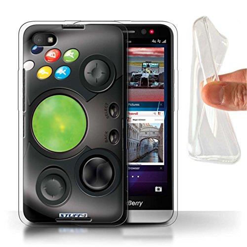 Hülle Für BlackBerry Z30 Spielkonsolen Xbox Design Transparent Dünn Flexibel Silikon Gel/TPU Schutz Handyhülle Case