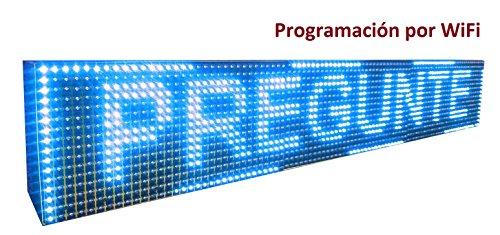Cartel LED programable por WiFi / Letrero programable / Pantalla progr