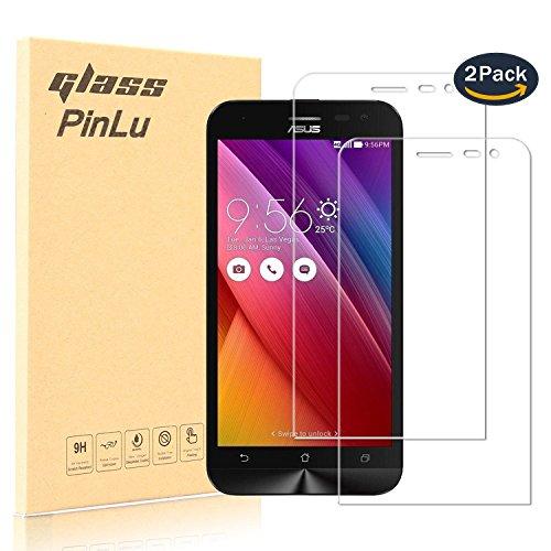 pinlu [2 Pack] Protector de Pantalla de Cristal para ASUS ZenFone 2...