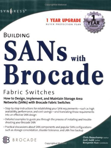 Building SANs with Brocade Fabric Switches by Brocade Communications (1-Jan-2002) Hardcover