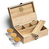 nunya large stash box for herbs with...