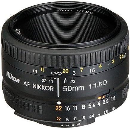 $110 » Nikon AF FX NIKKOR 50mm f/1.8D Lens with Auto Focus for Nikon DSLR Cameras (Renewed)