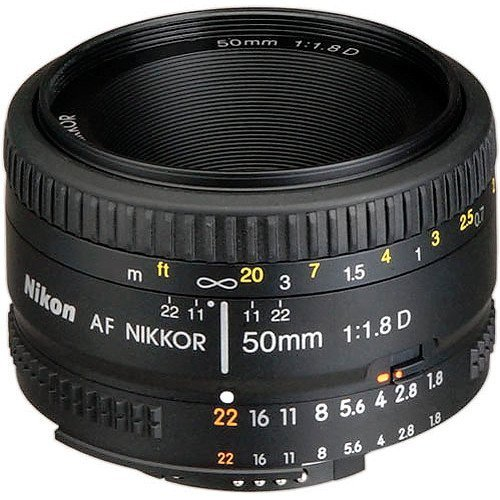 cheap Nikon AF FX NIKKOR 50mm f / 1.8 D autofocus lens for Nikon DSLR (updated)