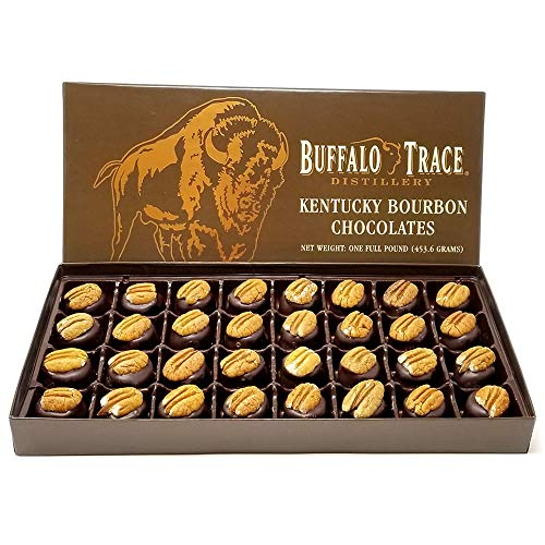 Buffalo Trace Kentucky Bourbon Balls Chocolates Gift Box for Holidays 32pcs.