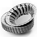 matana - 20 Stück Mehrweg Silber Plastikschalen- 18,5 cm