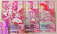 ゆめサイリウムしゅうかアナザーコーデ ワンピ シューズ ヘアアクセ PR プリチャン プリチケ プリチケパック3