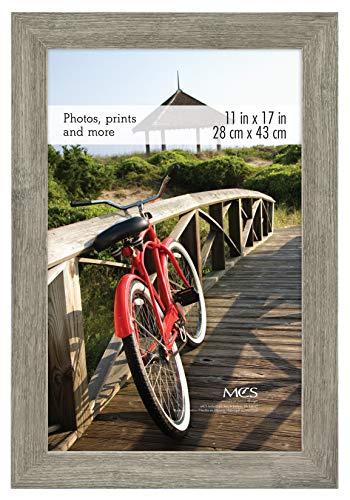 MCS Museum Poster Frame, 11 x 17 in, Barnwood