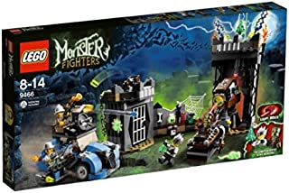 LEGO Monster Fighters 9466: The Crazy Scientist and His Monster