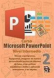 Manual PowerPoint Intermedio: Maneje organigramas, flujogramas, imágenes de manera personalizada manejo de álbumes de fotos, crear gráficos estadísticos ... (Manuales de Computacion Facil nº 14)