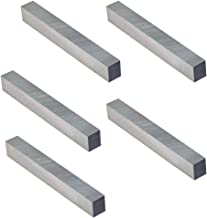 PROLINEMAX 5 Pc 3/8'' x 3/8'' x 3'' HSS Square Bits Lathe Fly Cutter Mill Blank Lathing Milling