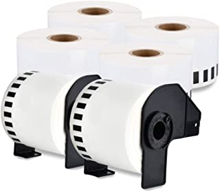 enKo - Compatible DK-2225 Continuous Paper Labels (1-1/2 Inch x 100 Feet) Compatible for Brother QL Label Printers - 6 Rol...