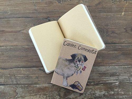 ALEX CLARK Canine kommentarer liten kraft anteckningsbok