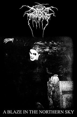 Darkthrone Poster A Blaze in the Northern Sky offiziell Textile Flag 104 x 65cm