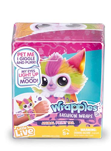 Famosa- Little Live Pets Wrapples Fashion Wraps con