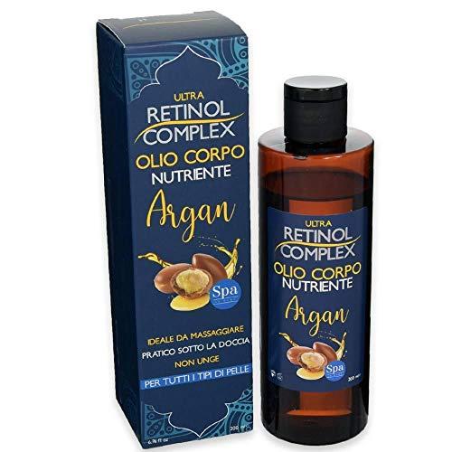 Aceite Corporal Nutritivo con Aceite de Argán, ideal para masajes para todo tipo de pieles
