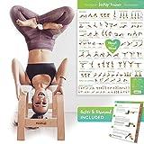 Feetup - Tabouret de yoga pour posture du poirier