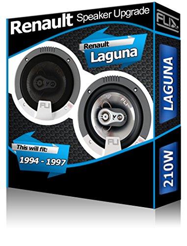 Fli Audio Renault Laguna Porte Avant Orateurs Haut-Parleur de Voiture de 210 W