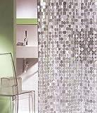 シールスキン シャワーカーテン スパークリング (クリア) 120×180cm 046の写真