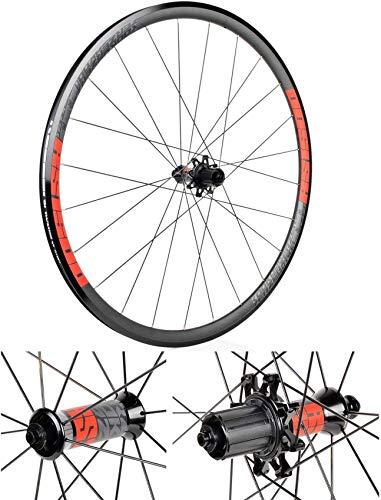 Ruedas de ciclismo 700C, aleación de aluminio Juego de ruedas de bicicleta de carretera BMX Freno Calper Rodamientos sellados de llanta de bicicleta de 30 mm de altura Rodamientos Palin 32H Ruedas de