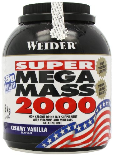 Weider MEGA MASS 2000 3 kg, Vanille