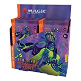 Magic: The Gathering Innistrad: Midnight Hunt Collector Booster Box | 12 Packs (180 Magic Cards)
