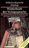 W. R. Frieling: Wörterbuch der Verlagssprache